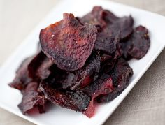 Coriander Beet Chips, a recipe on Food52