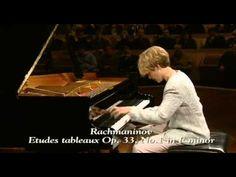 ▶ Helene Grimaud - Rachmaninov - Etudes tableaux Op. 33 N° 2, 1 - YouTube