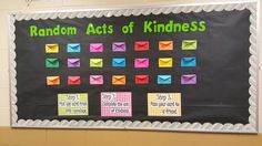 Interactive Random Act of Kindness Board