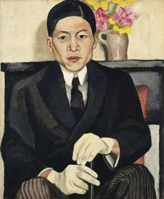 Portrait of Torahiko Khori, Nina Hamnett (1890-1956).