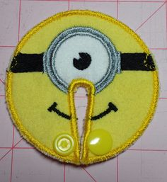 Hey, I found this really awesome Etsy listing at https://www.etsy.com/listing/176937817/minion-inspired-g-tube-cover