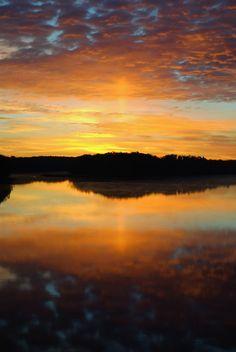 Androscoggin River Dawn
