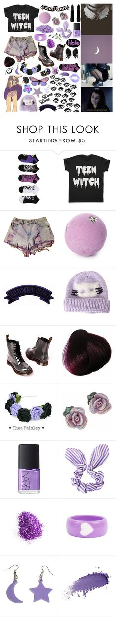 """i wanna be a witch"" by seeroflight ❤ liked on Polyvore featuring mark., Dr. Martens, Blume, Miss Selfridge, NARS Cosmetics, Topshop and Benefit"