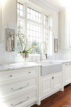 69 Luxury White Cottage Kitchen Cabinets Ideas 48