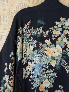 Free People Vintage Kimono in Black (multi) - Lyst