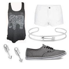 Untitled #86 by katelyn64 on Polyvore featuring polyvore, fashion, style, Vans, Gerard Yosca and Sydney Evan