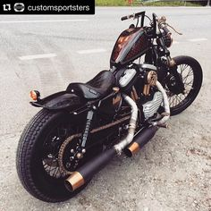 The Horse Back Street Choppers Magazine — #Repost @customsportsters ・・・...