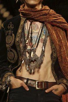 bolero, scarf