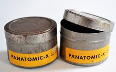 Vintage Kodak Film Cans /Tins / Containers / Canisters by MagsandI