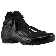 8196b17f7572 Nike Air Flightposite - Men s - Black Metallic Silver Black Basketball Shoes  For Men
