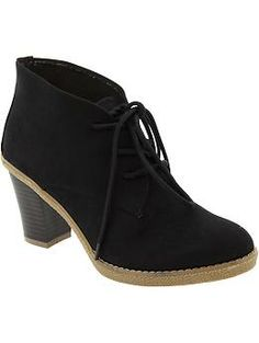 Old Navy Women's Laced Short Boots. Bought these today!!