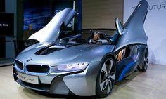 BMW I-8 spyder concept.