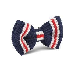 American Navy Blue Knitted Bow Tie |   Men's Suit Knitted Bow Tie for Men | Mens Wedding Knit Bow Tie Normal Knits Bow Tie Width Handmade Gentlemen Accessories for Guys | Buy Knitted Bow Tie Online Shop Australia | Knitted Bow Tie Men's Fashions | OTAA