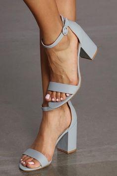 Women High Heels Aerothotic Glitter Sandals Pewter Shoes Women High He – robobco Nude Strappy Heels, Ankle Strap Heels, Pumps Heels, Blue Sandals Heels, Sandals Sale, Ankle Strap Block Heel, Sandals Outfit, Transparente High Heels, Low Block Heel Pumps