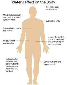Water Benefits to Human Body