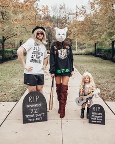 Taylor Swift Halloween Family Costume / Reputation Stadium Tour / Look What You Made Me Do