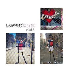 Hello Hart shared Yarnbombing including the work of artist London Kaye, recently profiled on Crochet Concupiscence