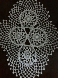 Rosette Surrounded by a Square Shaped Ground pattern by Thérèse de Dillmont Crochet Doily Diagram, Filet Crochet Charts, Crochet Lace Edging, Irish Crochet, Crochet Patterns, Crochet Blocks, Crochet Squares, Lace Centerpieces, Doily Wedding