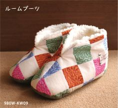 free slippers pattern in Japanese
