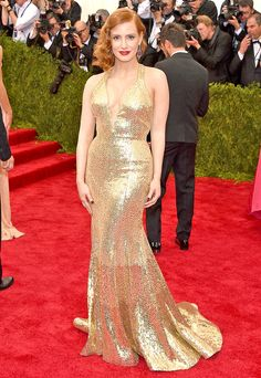 Jessica Chastain: Met Gala 2015 Mi favorita de siempre