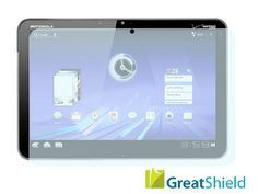 GreatShield Ultra Smooth Clear Screen Protector Film for Motorola XOOM Tablet (3 Pack)