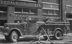 Boston, MA FD Engine 51 1948 Ward LaFrance 750 GPM Pumper.my home will be covered in black and white photos of the city.