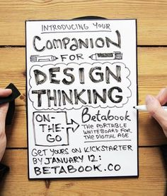 Introducing your companion for #designthinking on the go: betabook.co blog/RT? pic.twitter.com/Chu4pJ2wLE Think On, Design Thinking, How To Introduce Yourself, Twitter, Blog