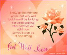 Get Well Soon Sweetie
