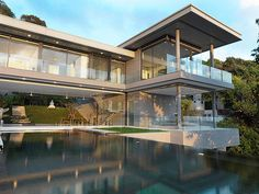 Villa Amanzi by Adrian McCarroll, Waiman Cheung, Jamie Jamieson » Yanko Design