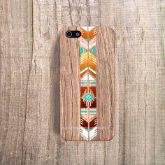 Boho iPhone Case iPhone Case Wood Print Stylish by casesbycsera, $19.99