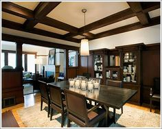 Modern Craftsman Dining Room