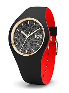 3023a30ff5d Montre Femme ICE-Watch Loulou Black Glitter  Taille  Small Reference   007227 Couleur