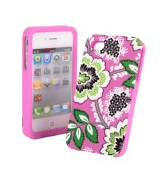 Vera Bradley iphone cases, finally! How cute!!!