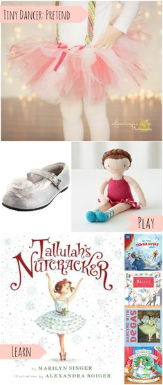 Pretend, Play, Learn: Awesome gift guide for the tiny dancer in your world. I wish that Candy Cane tutu came in Mommy's size! What age was your child when you first entered them into dance classes? Wondering if that might make a good gift for our little girls.