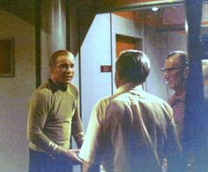 "Behind the scenes, on the 1960's television series STAR TREK episode, ""Deadly Years""."