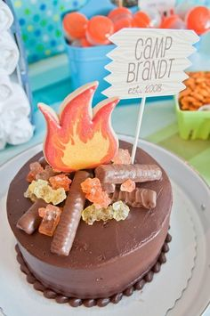 Art Camping party birthday-birthday-birthday