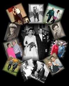 """""""My Mom { Helen Hutton Roberts} passed away September 5th 2010 my Dad { Glenn Roberts } is still with us this was a collage for their 50th anniversary in June 12th 2010. A strong beautiful women, I miss her so much!"""" ~Kinda"""