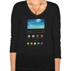 Samsung Galaxy Note3, its a geeky t shirt