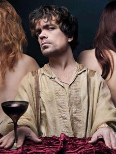 My favorite character on Game of Thrones, Tyrion Lannister played by Peter Dinklage.