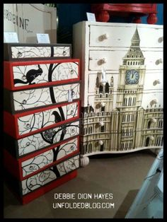 Birdie chest of drawers