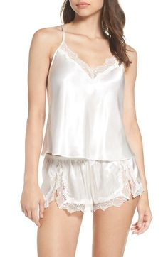 dab3c7386a Main Image - In Bloom by Jonquil Satin Short Pajamas (Nordstrom Exclusive)