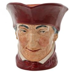 Cardinal Large Royal Doulton Discontinued Character & Toby Jugs