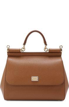 77bcac2a1949da Женская светло-серая сумка sicily medium Dolce   Gabbana