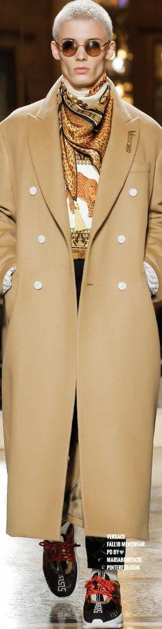 Versace Fall18 Menswear