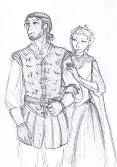 Fitz and Amber in Fool's Quest