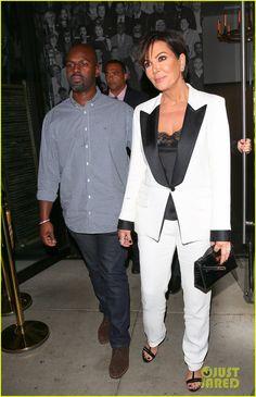 Corey Gamble et Kris Jenner (04/11)