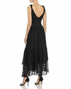 Mcq Alexander Mcqueen, Rebecca Taylor, Lace Knitting, Knit Dress, Dresses Online, Dress Outfits, Clothes For Women, Shopping, Fashion