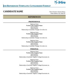Great References For Resume Template Picture professional reference format resume format References For Resume Template. Here is Great References For Resume Template Picture for you. √ How To Create A Reference List Sheet For Job Interview...