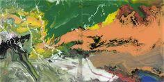 FLOW (P15) by Gerhard Richter