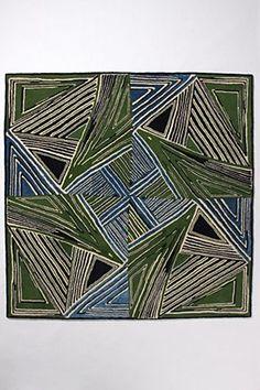 Zigzag rug